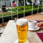 アニヴェルセルカフェ - ランチビール:500円