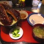 一休庵 - ジャンボソースカツ丼 1200円