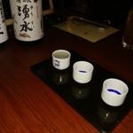 旬の蔵パセリ - 日本酒 飲み比べ