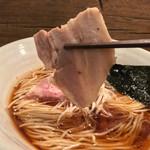 Homemade Ramen 麦苗 - Homemade Ramen 麦苗(むぎなえ)(東京都品川区南大井)醤油らあめん