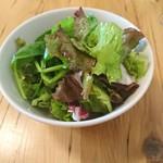 ブラッスリー ロノマトペ - (2017年9月 訪問)ランチのサラダ。相変わらず丁寧な作りです。