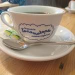 ブラッスリー ロノマトペ - (2017年9月 訪問)コーヒーカップもお店オリジナルで可愛いのです。