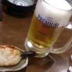 淡路島ええとこどり - ビールとお通し