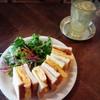 カフェ ウワイト - 料理写真:那須御養卵を使用した卵サンド¥680、自家製レモンスカッシュ¥550
