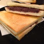むらやま - 小倉トーストセット