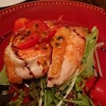 ソプラッチリア - 知床鶏むね肉ロースト パッションフルーツソース