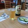 ミツワグリル - ドリンク写真:「ビール中」550円