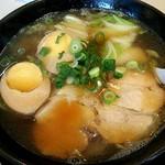 ふうりん - ふうりんラーメン+煮玉子