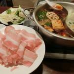 天府 - 一人前の豚バラ薄切り肉