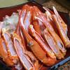 Shoutenkyou - 料理写真:今日一の一品の焼き蟹(焼く前)