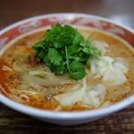 かづ屋 - ワンタン担担麺