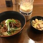 ブタとエスプレッソと - ぶ台湾風ラーメン  ミニチャーシュー丼付き  800円