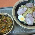 河辺大勝軒 - 料理写真:チャーシューつけ麺 1050円