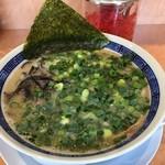 博多豚骨ラーメン田原 - ネギチャーシュー麺(整形前)