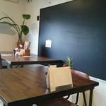 するめcafe - 店内。