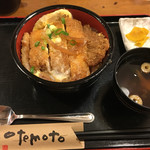 ブタとエスプレッソと - 卵とじカツ丼  800円