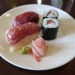 菅乃屋 - 馬肉寿司