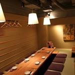 神楽坂 魚金 - 2Fでは、40名様までの宴会も可能です。