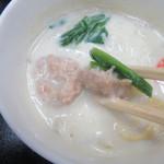 笹乃雪 - 豆乳入りの蒸し物