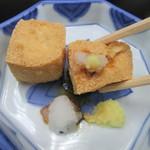笹乃雪 - おろし醤油で味わう