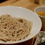 EBISU FRY BAR - ピリ辛ごま豆乳ざる蕎麦