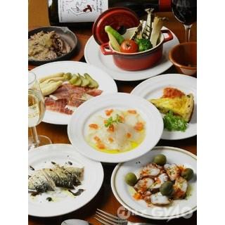 ちょこ食べタパス料理が充実!約30種類≪330円~≫♪
