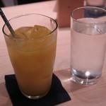 ぬる燗佐藤 横濱茶寮 - 「日本酒フレッシュオレンジ」