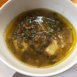 彩雲瑞 - [蒸豆腐] 豆腐の蒸し物 甘長ししとうかけ