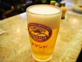 京極スタンド - 生ビール
