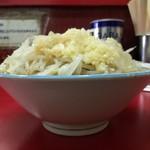 ラーメン二郎 - 小豚ラーメン※全マシ