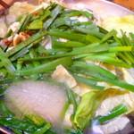 白牡丹 - ◆もつ鍋②