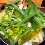 白牡丹 - ◆もつ鍋①