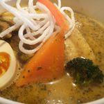 スパイスカフェ ベロデカ - 平日ランチとろトン煮込み Aランチ+曜日限定こくナッツスープ