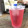 ほったらかし温泉 - ドリンク写真:ぶどうジュース