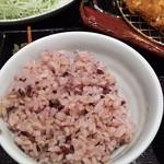 Tonkatsuhamakatsu - 麦ご飯
