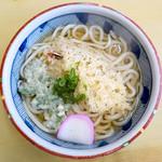 和香松 - 料理写真:天ぷらうどん