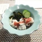 北浜うらら - 鱧と蛸の酢の物