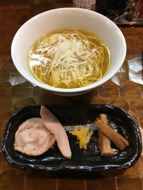 活龍鶏そば専門店 とりだけ - 極 比内地鶏(900円)