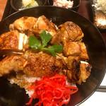 串焼き もんじろう - 焼鳥丼