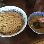 72913711 - つけめん750円+麺大盛(450g)100円