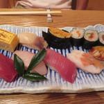 鮨木むら - 2100円のおきまり