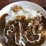 ファミリーレストラン ニューあぶくま - ランチ カレーライス 600円