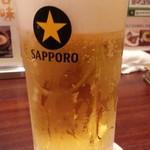 わすれん棒 - 生ビールは黒ラベル通常460円