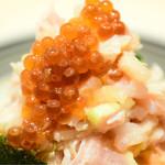 日本橋海鮮丼 つじ半 - ぜいたく丼・松@税込1,980円
