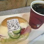 72917476 - パリジェンヌ 350円  アイスコーヒーは200円です