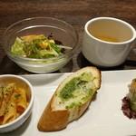 ベビーフェイスプラネッツ 新潟フレスポ赤道店 - 前菜、サラダ、スープ