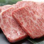 レーン焼肉ミスズ - 黒毛和牛特選カルビ¥1,680