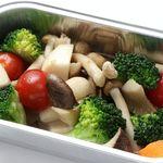 レーン焼肉ミスズ - 野菜のアヒージョ¥390