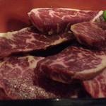 六歌仙 - Mix御膳(カルビ3枚、ハラミ4枚)1,620円肉アップ