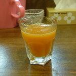つけめん うさぎちゃん - 野菜ジュース
